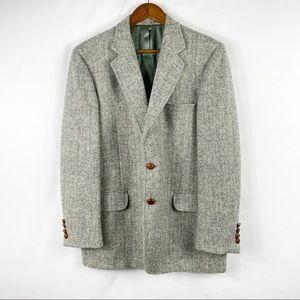 AMERICAN CRAFTSMAN Harris Tweed Herringbone Coat